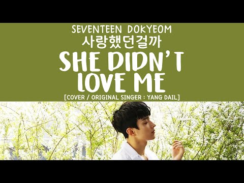 [LYRICS/가사] SEVENTEEN (세븐틴) Dokyeom - 사랑했던걸까 (She Didn't Love Me) [COVER]