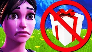 gifting is NEVER coming to Fortnite... (PATCH NOTES) Chaos