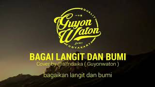 Gambar cover Guyon waton#Bagai langit dan bumi