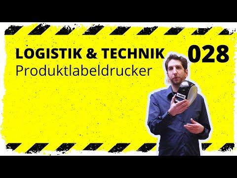 logistik&technik #028: Der Produktlabeldrucker - Welchen empfehlen wir für z. B Barcodes