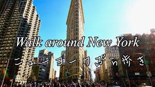 【ニューヨーク旅行④】マンハッタンぶら歩き Walk around Manhattan, New York
