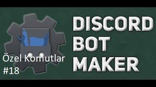 Basit Sürekli İsim Değiştiren Oda  Komutu | Discord Bot Maker Özel Komutlar Komutları #18