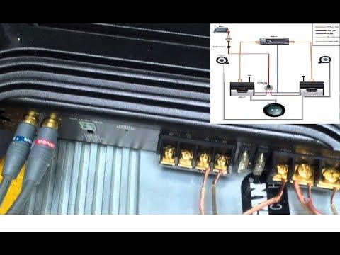 sony xplod 1000w amp wiring diagram  custom relay and fuse