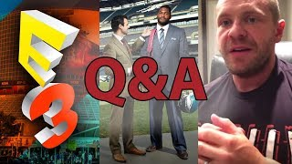 Q&A -  E3 2018, Lobliner Cancels Fundraiser, Tailoring for Muscular Builds, & More