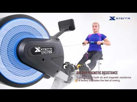 XTERRA Fitness ERG700 Air Turbine Rower