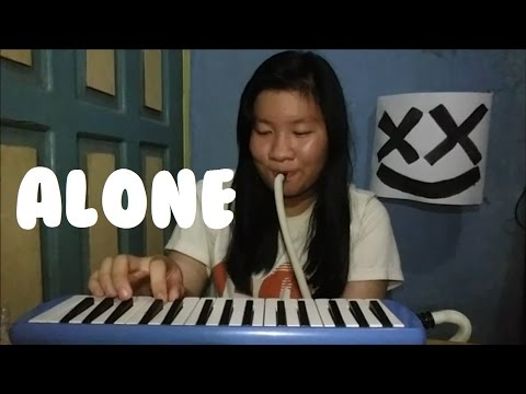 Alone - Marshmello | Cindy Felicia | Melodica Cover