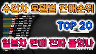 수입차 모델별 판매순위 TOP 20, 일본 제품 불매 …