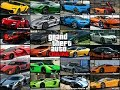 GTA 5 Online - All Supercars Names In Real Life
