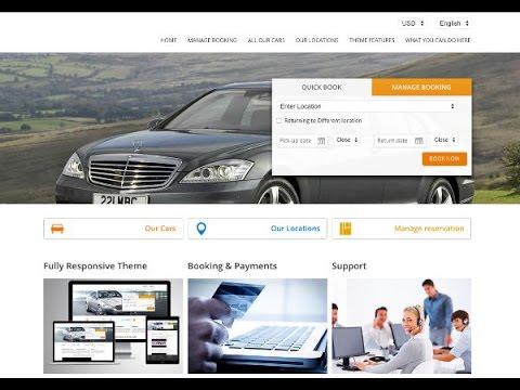Wordpress car rental installation in 90 seconds