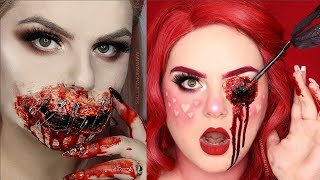 Special Effects Makeup Transformations 2018 | Halloween SFX Makeup Tutorials