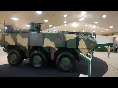 6X6 Vehicles At DSA 2014