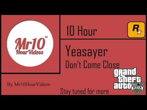 Yeasayer - Don't Come Close | 10 HOUR | Mr10HourVideos