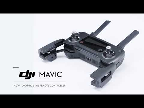 DJI Mavic Pro - Charging the Remote Controller