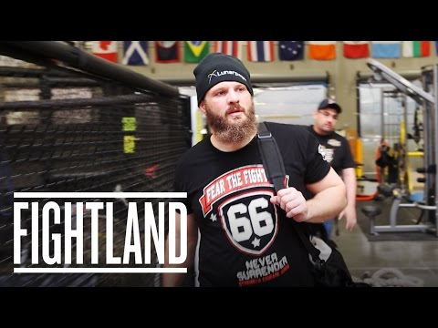 Behind The Scenes With Big Country: Fightland Meets Roy Nelson