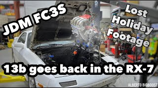 homepage tile video photo for 13B GETS INSTALLED ON THE JDM FC3S PLUS LOST HOLIDAY FOOTAGE