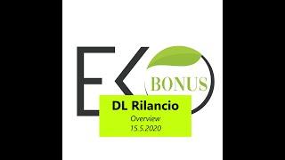 EcoBonus DL Rilancio  - 15 5 2020