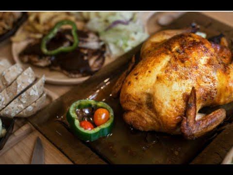 دجاج مشوي بالفرن بتتبيلة كتيربسيطة سهل ولذيذ وصحي مية بالمية Grilled chicken oven easy and delicious