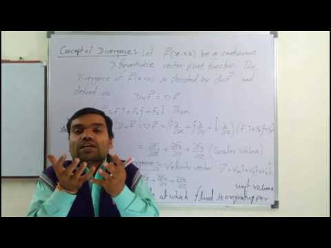 Lecture 3, Vector Analysis:Divergence and Curl of a vector point function.
