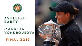 Ashleigh Barty vs Marketa Vondrousova - Final 2019 - The Film | Roland-Garros