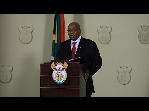 Zuma resigns on live TV