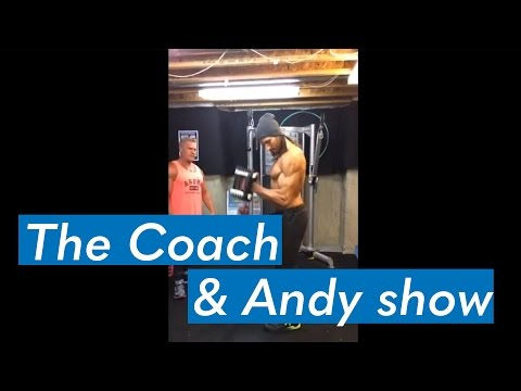 Low calorie diets, abs and low bodyfat, and more (Coach and Andy Show)