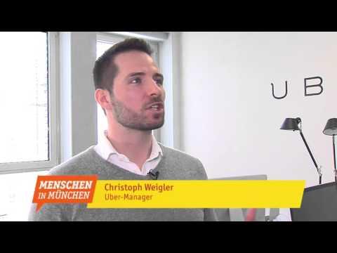 Christoph Weigler - Chef UBER München  - Menschen in München