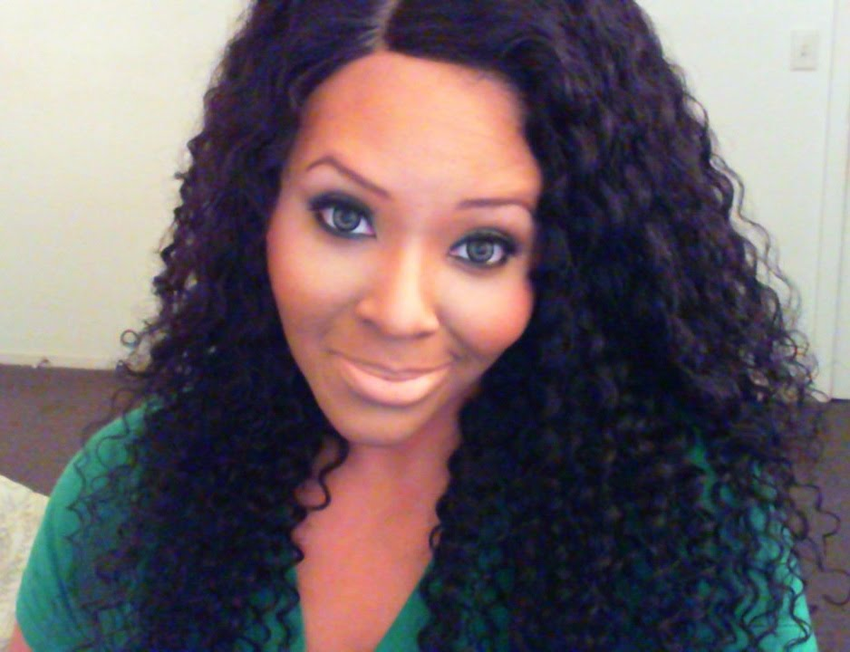Gem Beauty Supply Hair Store Brazilian Deep Wave Curly Review Youtube