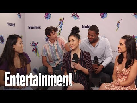 Deadly Class: Cast On Becoming Killing Machines & Stunt Training | SDCC 2018 | Entertainment Weekly