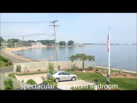 Branford, CT Vacation Rental House with Views of the Long Island Sound and Beach Access