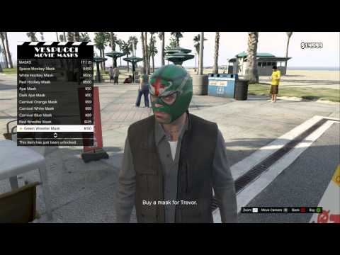 GTA 5 - Mask Store Location