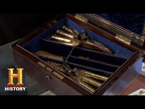 Pawn Stars: HIGH PRICE For VERY RARE Duck Foot Pistols (Season 12) | History