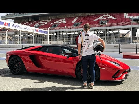 GIRLFRIEND DRIVES LAMBORGHINI FOR FIRST TIME!!