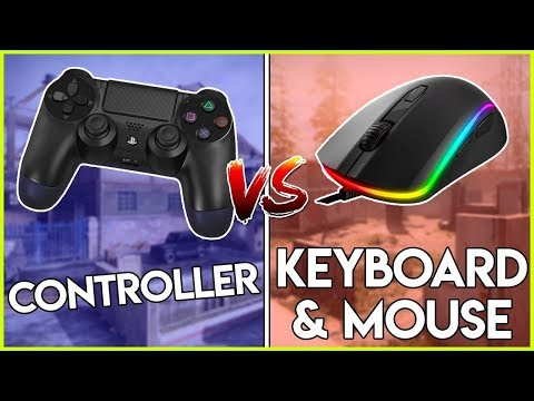 CONTROLLER VS KEYBOARD AND MOUSE - WHICH IS BETTER? (Call Of Duty Modern Warfare)