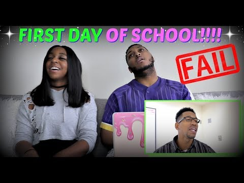 """Tpindell """"First Day of School: EXPECTATION vs REALITY!"""" REACTION!!!"""