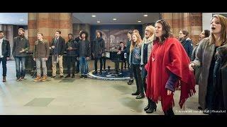 Flashmob Amsterdam Centraal