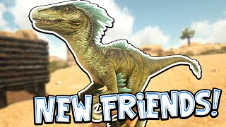 Ark: Scorched Earth! - NEW FRIENDS! [#4] |Scorched Earth Gameplay|