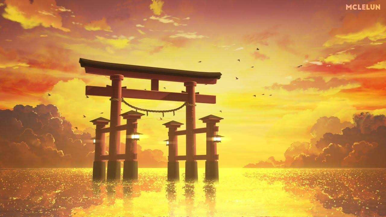 Torii 鳥居 - Anime Style Background Animation - YouTube
