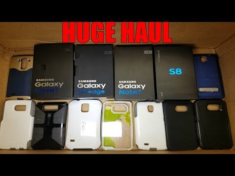 HUGE HAUL! SAMSUNG PHONE STORE DUMPSTER DIVE! Brand New Galaxy S8 Galaxy S7 Boxes! Where The Phones?