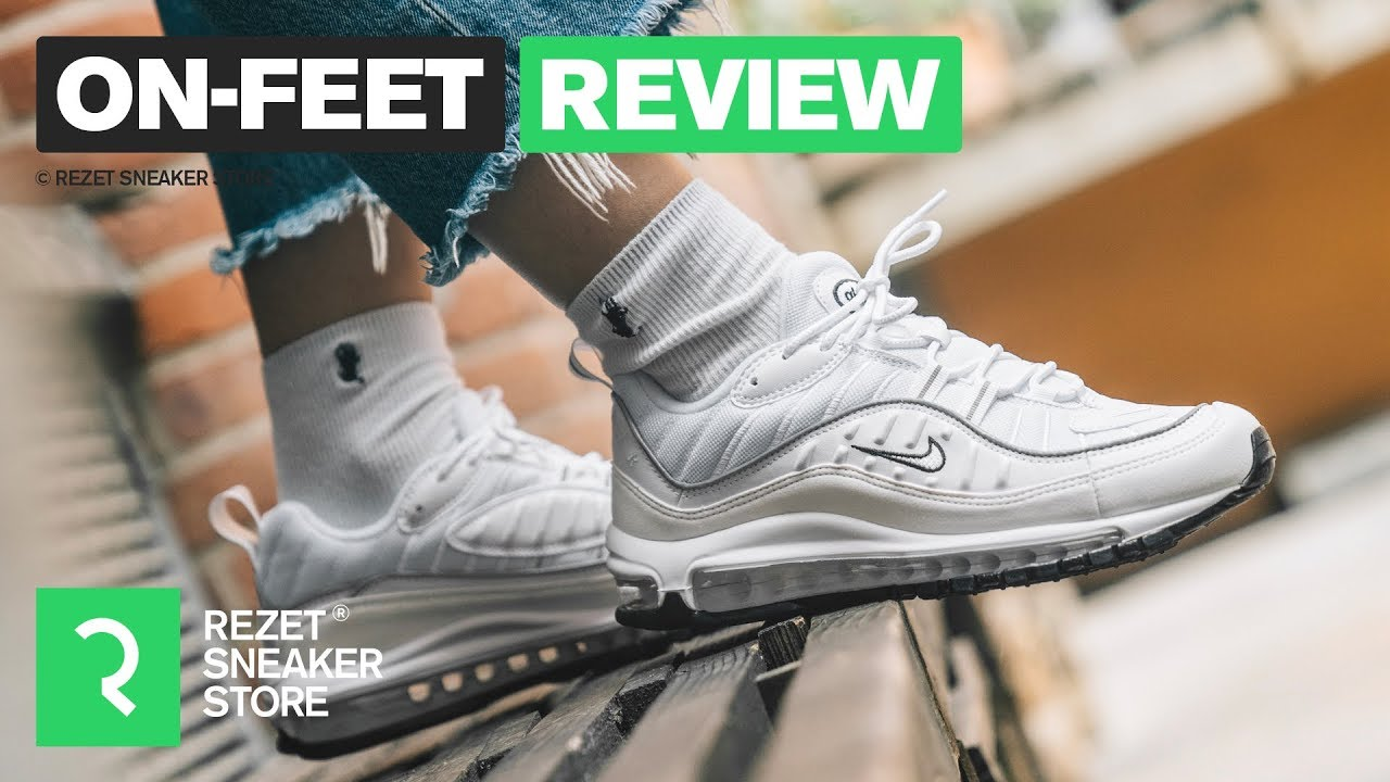 On Feet Review Air Max 98 Youtube