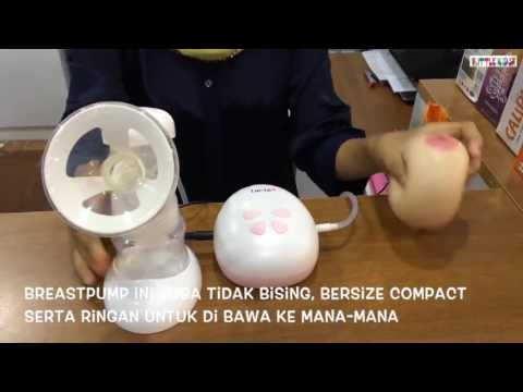 Lacte Single Electric Breast Pump How to use Demo | Best Price Malaysia | Little Kids