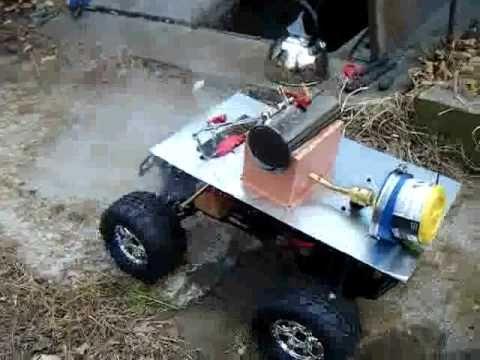 Mechanical Design Project Steam Power RC Car (Part 2)