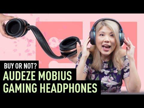 SGeek goes nuts for Audeze Mobius headphones