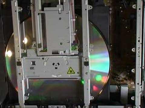Disc Loading Mechanism (LD) Laserdisc Player Denon LA-2300