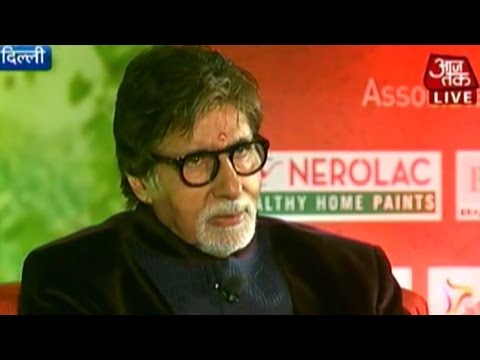 Amitabh Bachchan on