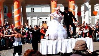 Свадьба: Елагин Парк (Санкт-Петербург): Фестиваль уличных театров, LIQUID THEATRE