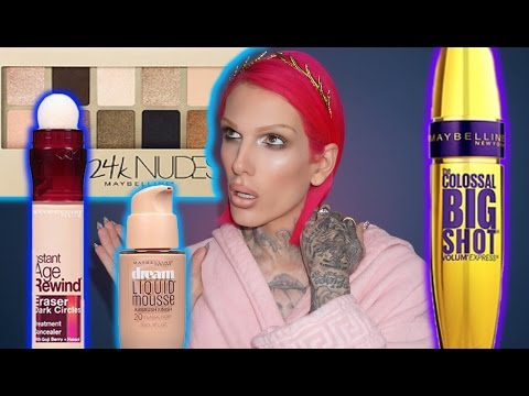 FULL FACE USING ONLY MAYBELLINE PRODUCTS!  Jeffree Star