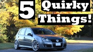 5 Quirky Things About the VW GTI!