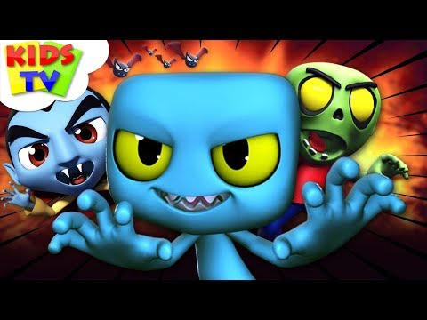 It's Halloween Night | Nursery Rhymes For Children | Cartoon Videos For Toddlers by Kids Tv