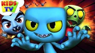 Çocuklar İçin Çocuk Televizyon Çocuk | Çizgi film Videoları İçin Cadılar Bayramı Gecesi | Tekerlemeler var