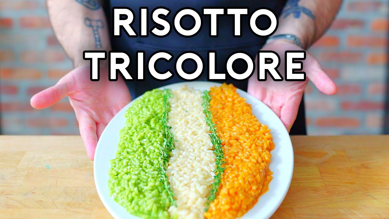 Download Risotto Tricolore from Big Night   Binging with Babish